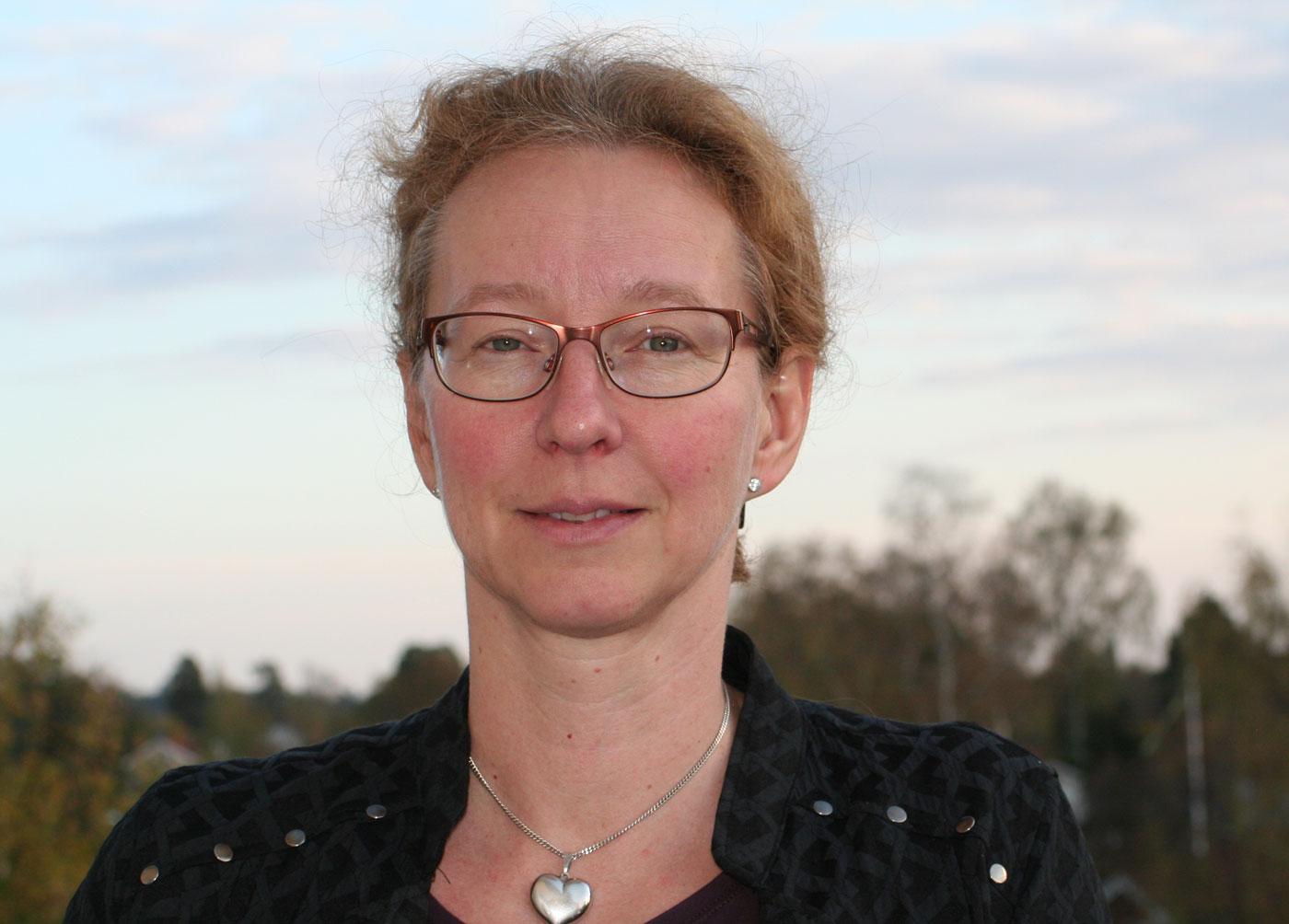 Yvonne Dellmark, ordförande för Karolinska universitetssjukhusets läkarförening.