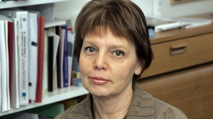 Margaretha Fahlgren, professor i litterturvetenskap, leder regeringens utredning om oredlighet i forskning. Fotograf: Staffan Claesson