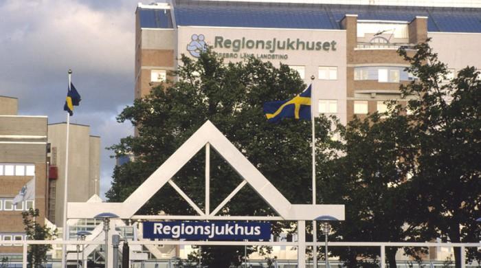 Universitetssjukhuset i Örebro.