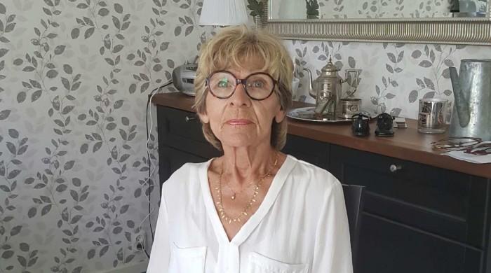 Cancersjuka Solbritt Björkstrand fick vända hem igen utan operation.  Foto: Annelie Hålén