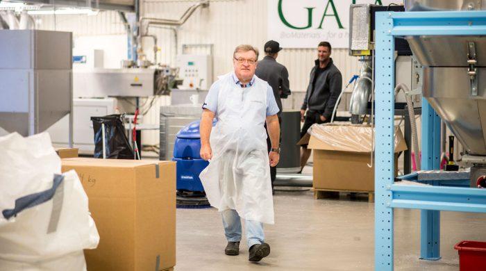 Åke Rosén, grundare av Gaia Biomaterials i Helsingborg. Foto: Li Fernstedt