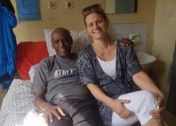 Katrin Hruska har tidigare varit i Etiopien och hälsat på Fikru Maru.