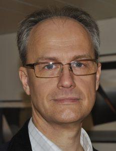 Henrik Lund, riksordförande SALO. Foto: SALO