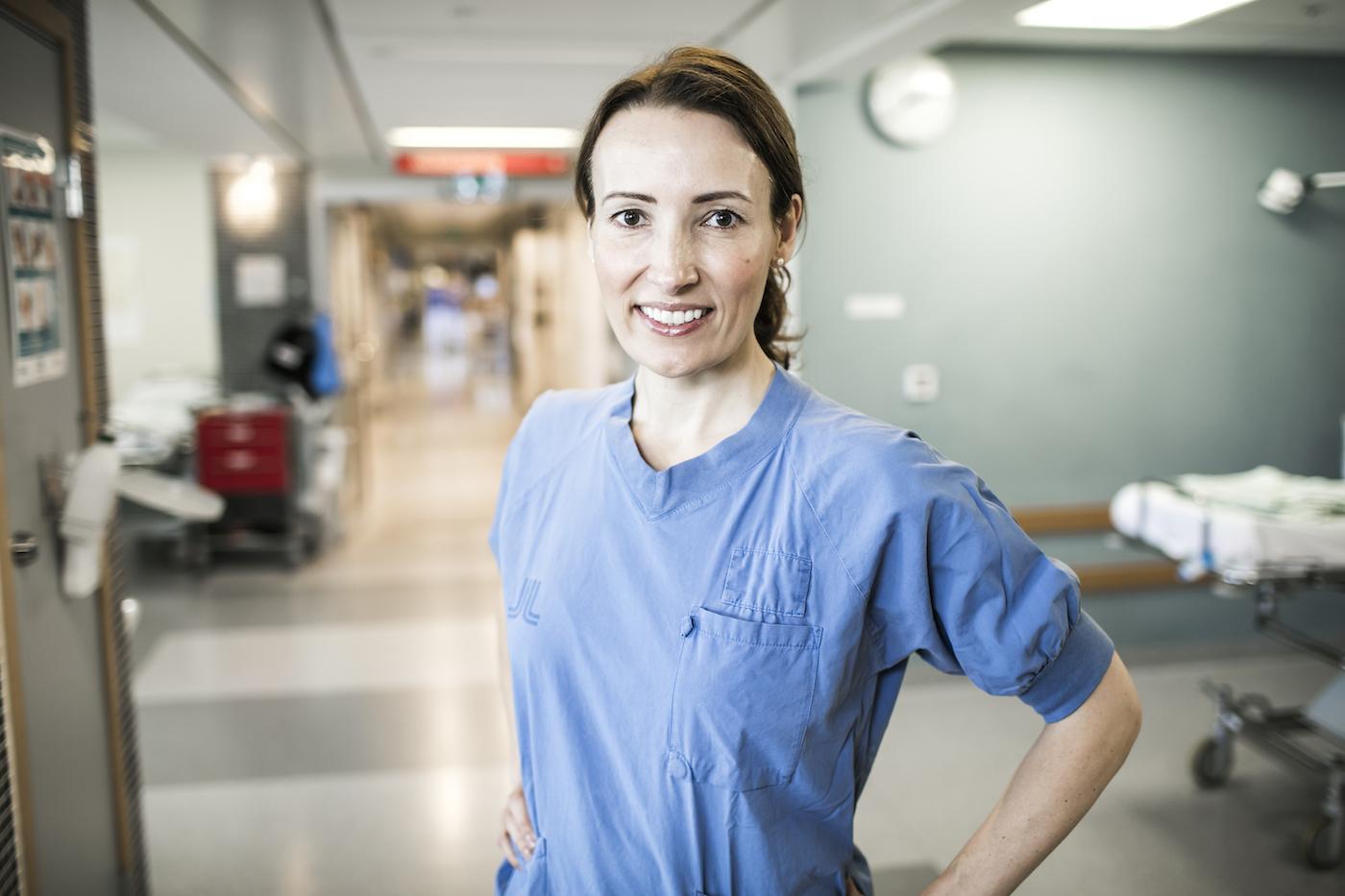 Heidi Stensmyren, Läkarförbundets ordförande. Foto: Rickard L Eriksson