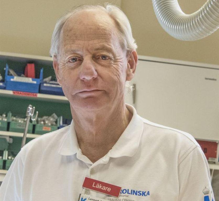 Verksamhetschefen Lennart Adamsson var en av dem som samordnade traumavårdkedjan under terrorattentatet i Stockholm.
