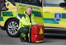 Staffan Olheden, överläkare på akutläkarbilen.  Foto: Stefan Nilsson