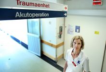 Charlotte Thur som varit specialist sedan 2008 och har jobbat på Karolinska sedan 1999 var en av dem som stod för det första omhändertagandet av terrorattackens offer. Foto:Stefan Nilsson