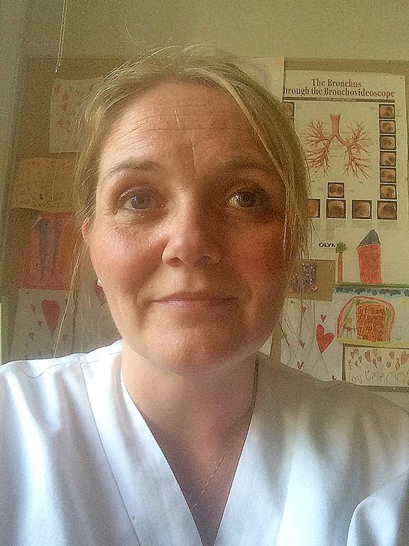 Helga Elidottir, överläkare och barnallergolog på SUS i Lund.